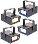 Set of 4 Mini LED Stroboscopes RYBW