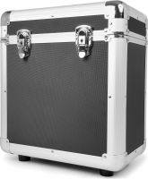 "RC80 12"" Flightcase til plader / Vinyl Record Case, Sort"