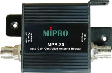 Mipro antenne +13 dB booster m/autogain for AD-708