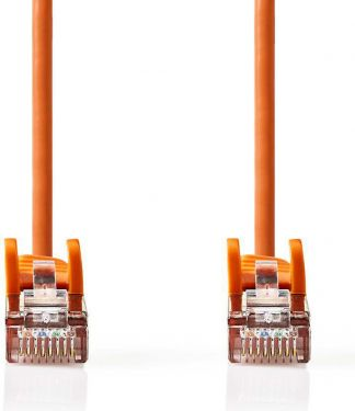 Nedis Cat 5e SF/UTP Network Cable | RJ45 Male - RJ45 Male | 2.0 m | Orange, CCGP85121OG20
