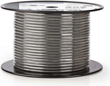 Nedis DMX-kabel 110 Ohm | 2 x 0,23 mm² | 100 m | Tromle | Grå, COTR15021GY100