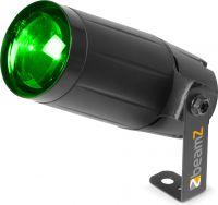 LED Pinspot PS12W / 12W LED med RGBW farvemix, giver rigtig flot lys på fx en spejlkugle!