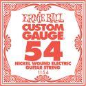 Diverse, Ernie Ball EB-1154, Single .054 Nickel Wound string for Eletric gui