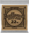 Musikinstrumenter, Ernie Ball EB-1822, Single .022 Wound Earthwood Phosphor Bronze str