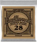 Musikinstrumenter, Ernie Ball EB-1828, Single .028 Wound Earthwood Phosphor Bronze str