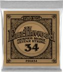 Musikinstrumenter, Ernie Ball EB-1834, Single .034 Wound Earthwood Phosphor Bronze str