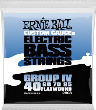 Ernie Ball EB-2808, Flatwound Flex 40-95
