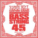 Musikinstrumenter, Ernie Ball EB-1645, Single .045 Nickel Wound string for Electric Bass