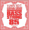 Musikinstrumenter, Ernie Ball EB-1685, Single .085 Nickel Wound string for Electric Bass