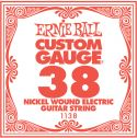 Musikinstrumenter, Ernie Ball EB-1138, Single .038 Nickel Wound string for Eletric gui