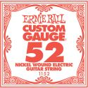 Musikinstrumenter, Ernie Ball EB-1152, Single .052 Nickel Wound string for Eletric gui