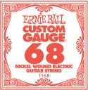 Musikinstrumenter, Ernie Ball EB-1168, Single .068 Nickel Wound string for Eletric gui