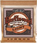 Ernie Ball EB-2148, Earthwood Phosphor Bronze Light 11-52