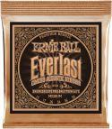 Musikinstrumenter, Ernie Ball EB-2544, Everlast Phosphor Bronze Medium 13-56