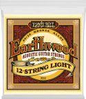 Musikinstrumenter, Ernie Ball EB-2010, Earthwood Bronze 12-str Light 9-46