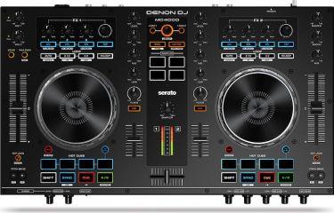 Denon DJ MC4000, Professional 2-channel Serato DJ controller