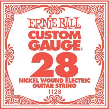 Ernie Ball EB-1128, Single .028 Nickel Wound string for Eletric gui