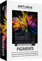 Arturia Pigments, Polychrome Software Synthesizer.