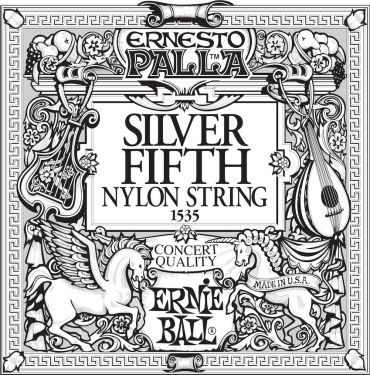 Ernie Ball EB-1535, Single A5 (5th) Ernesto Palla Silver Wound stri