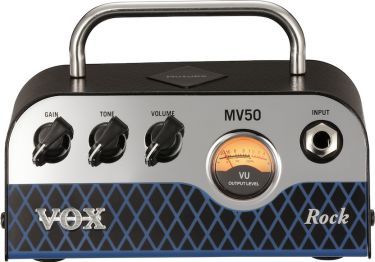 VOX MV50-CR, MV50 ROCK GUITAR AMPLIFIER Analog pre-amp featuring th