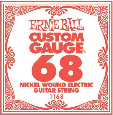 Ernie Ball EB-1168, Single .068 Nickel Wound string for Eletric gui
