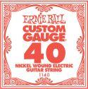 Diverse, Ernie Ball EB-1140, Single .040 Nickel Wound string for Eletric gui