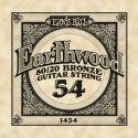Diverse, Ernie Ball EB-1454, Single .054 Wound Earthwood 80/20 Bronze Acoust