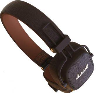 Marshall Major III BT Bluetooth Headphones Brown