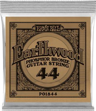 Ernie Ball EB-1844, Single .044 Wound Earthwood Phosphor Bronze str