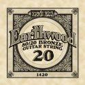 Diverse, Ernie Ball EB-1420, Single .020 Wound Earthwood 80/20 Bronze Acoust