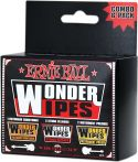 Musikinstrumenter, Ernie Ball EB-4279 Wonderwipes Multipack, Assorted Wonderwipes for