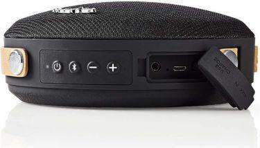 Nedis Bluetooth®-højttaler | 24 W | Vandtæt | Bærehåndtag | Sort/sort, SPBT37100BK