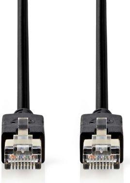 Nedis Cat 6 F/UTP Network Cable   RJ45 (8P8C) Male - RJ45 (8P8C) Male   3.0 m   Anthracite, CCBW8521