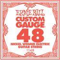 Diverse, Ernie Ball EB-1148, Single .048 Nickel Wound string for Eletric gui