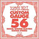 Diverse, Ernie Ball EB-1156, Single .056 Nickel Wound string for Eletric gui