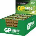 GP Alkaline Batteri AA 1.5 V Super 192-Vise, 03015AS