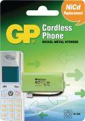 GP Oppladbart NiMH Batteri Pakke 2.4 V 500 mAh 1-Blister, 220436C1