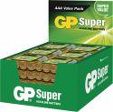 GP Alkaline Batteri AAA 1.5 V Super 192-Vise, 03024AS