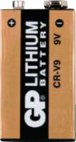 GP Lithium Battery 9 V 9 V 1-Blister, 070CR9VC1