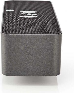 c1673c9433f Nedis Clockradio med vækkeur   Trådløs opladning af telefon   FM    Bluetooth, CLAR007BK