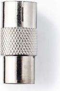 Diverse, Nedis Koaksialadapter | IEC (koaksial) hanstik | IEC (koaksial) hunstik | Metal, CSGP40942ME