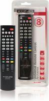 TV & Satellit, König Forprogrammeret Fjernbetjening 8:1 Universal, KN-RCU80B