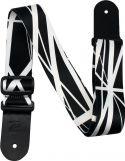"Musikinstrumenter, Profile SH193 Poly Strap Stripes Black, 2"" Terylene sublimation pri"