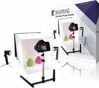 König Foldable Mini Photo Studio Halogen 40 x 40 x 40 cm, KN-STUDIO10N