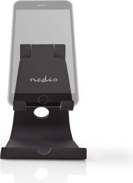 Nedis Smartphone-/tabletholder | Justerbar | Sort, SDSD100BK
