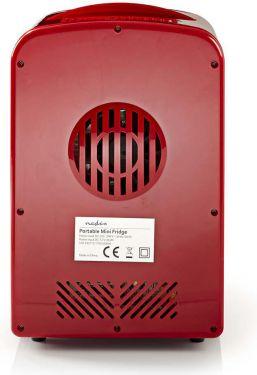 Nedis Portable Mini Fridge   4 L   12 / 230 V, KAFR110CRD