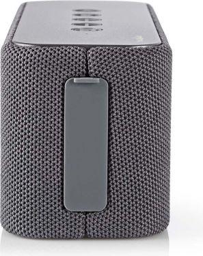 Nedis Bluetooth®-højttaler | 2 x 30 W | True Wireless Stereo (TWS) | Vandtæt | Grå, SPBT2002GY