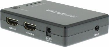 Valueline 4-Port HDMI Switch Black, VLVSW3404
