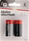 HQ Alkaline Batteri C 1.5 V 2-Blister, HQLR14/2BL