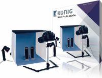 König Foldable Mini Photo Studio Halogen 60 x 60 x 60 cm, KN-STUDIO12N